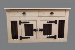 Bench-meubel-voor-in-huis-met-laden-voor-2-hondjes