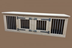 Honden-bench-meubel-van-hout-met-2-deuren-in-blanke-uitvoering