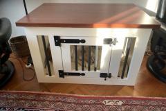 Honden-bench-meubel-voor-kleine-hondje-in-kleuren-wit-en-bruin