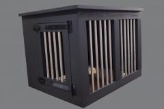 Houten-bench-voor-een-hond-in-de-kleur-zwart-grijs.