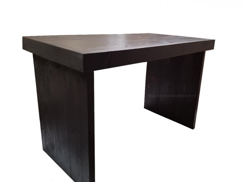Bijzet tafeltje van steigerhout