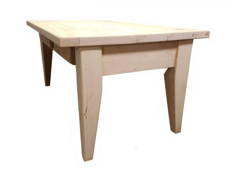 Kamer tafel in steigerhout met lades